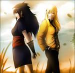 Nariko and Miyuki by RaviLavi