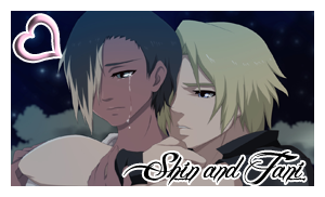 Shin and Tani Stamp 2 by dreamchaser21