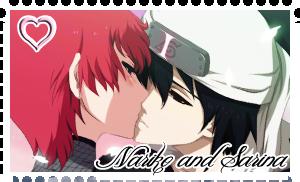 Nariko and Sarina Stamp by dreamchaser21