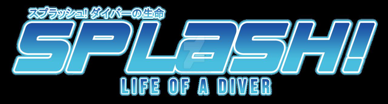 splash! life of a diver - free!oc story logo*:.dreamchaser21