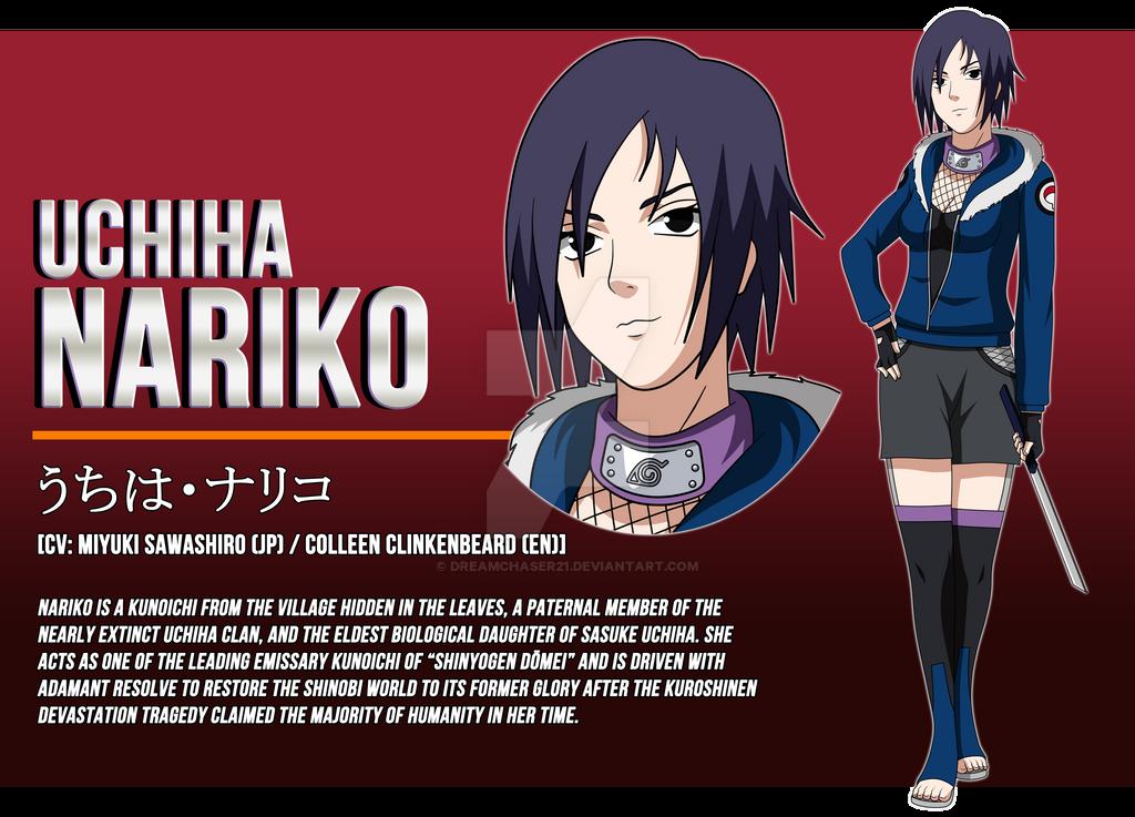 Naruto OC - Nariko Uchiha [Full Profile]*:  by dreamchaser21 on