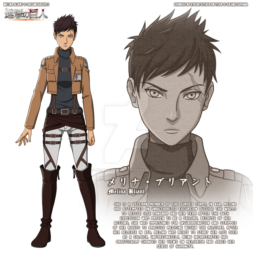 Character Design Oc : Shingeki no kyojin character design imgkid the
