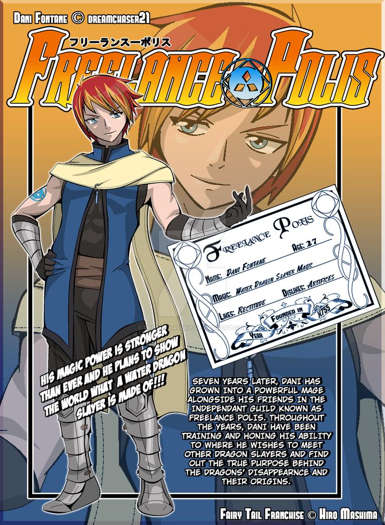 Fairy Tail Oc Dani Fontane X791 Full Bio By