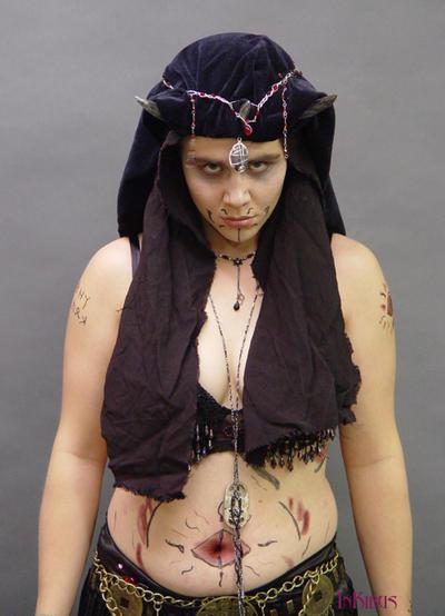 Morgul Priestess 2 by InKibus