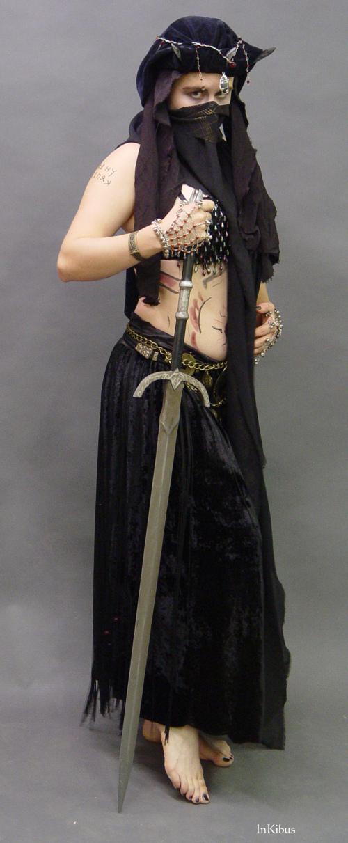 Sword dancer by InKibus