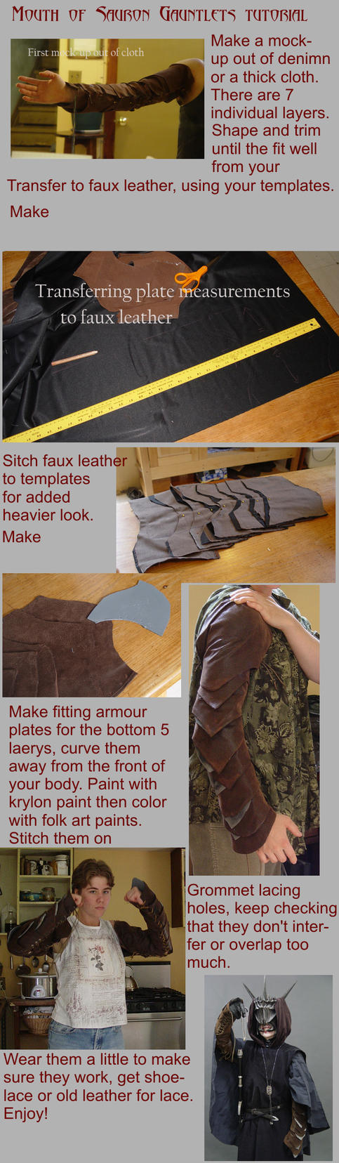 How to make MoS Gauntlets by InKibus