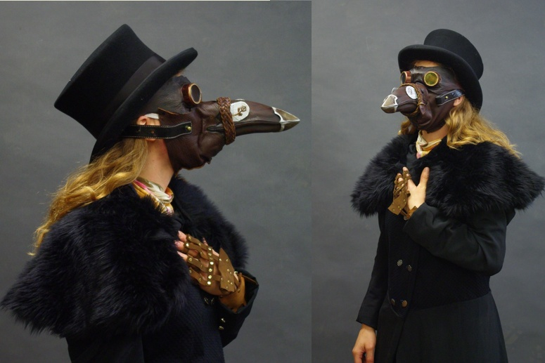 Plague Doctor Headshots by InKibus