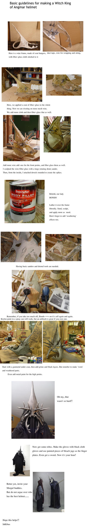 Witch King Helmet Tutorial by InKibus