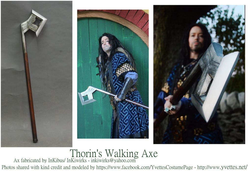 Thorin's Walking Ax by InKibus