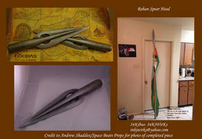 Rohan Guard Spear Heads by InKibus