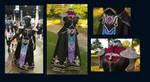 Dark Zelda dress - gown - costume- cosplay