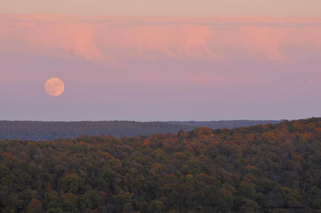 Super Moon Ozarks by InKibus