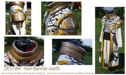 Destiny iron banner warlock armor