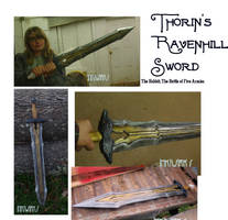 Thorin's Ravenhill sword battle of five armies