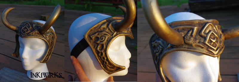 Custom Celtic Loki Diadem