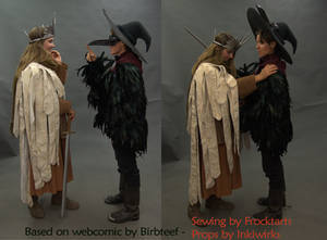 Bad Moon Rising cosplays