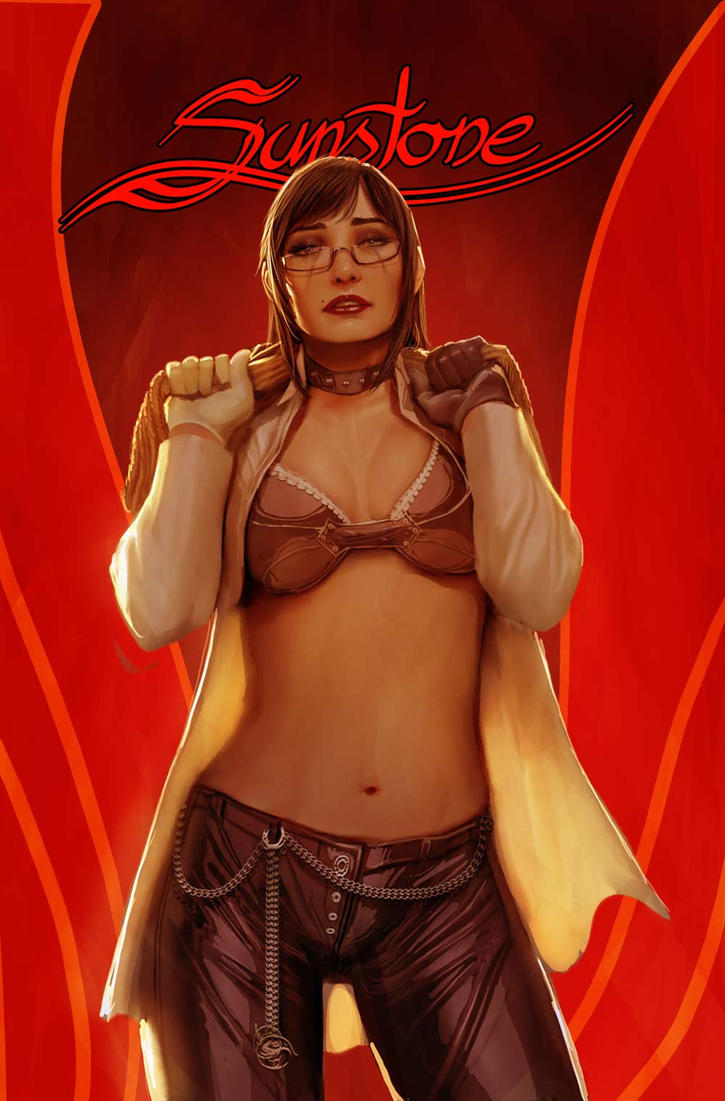 sunstone issue 2 cover a by shiniez