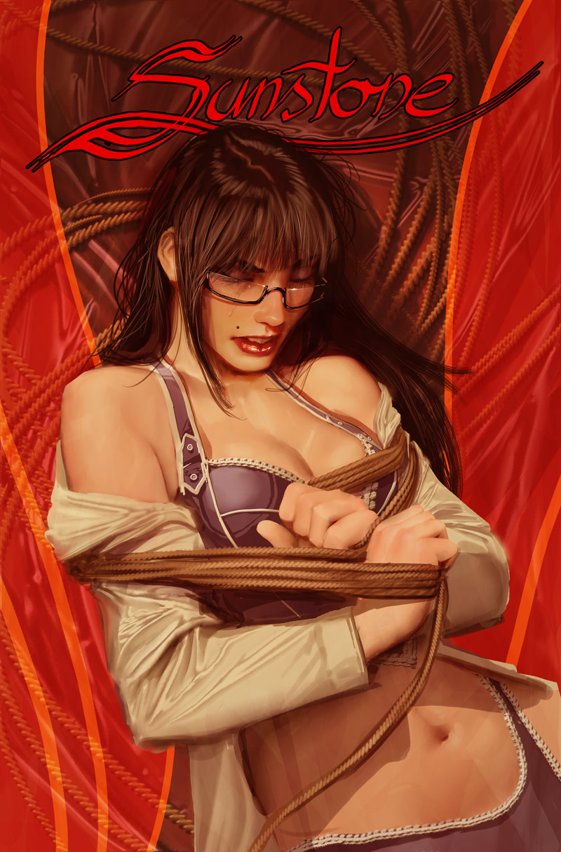 sunstone issue 2 cover b by shiniez