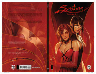 sunstone cover print proof just came in!!! by shiniez