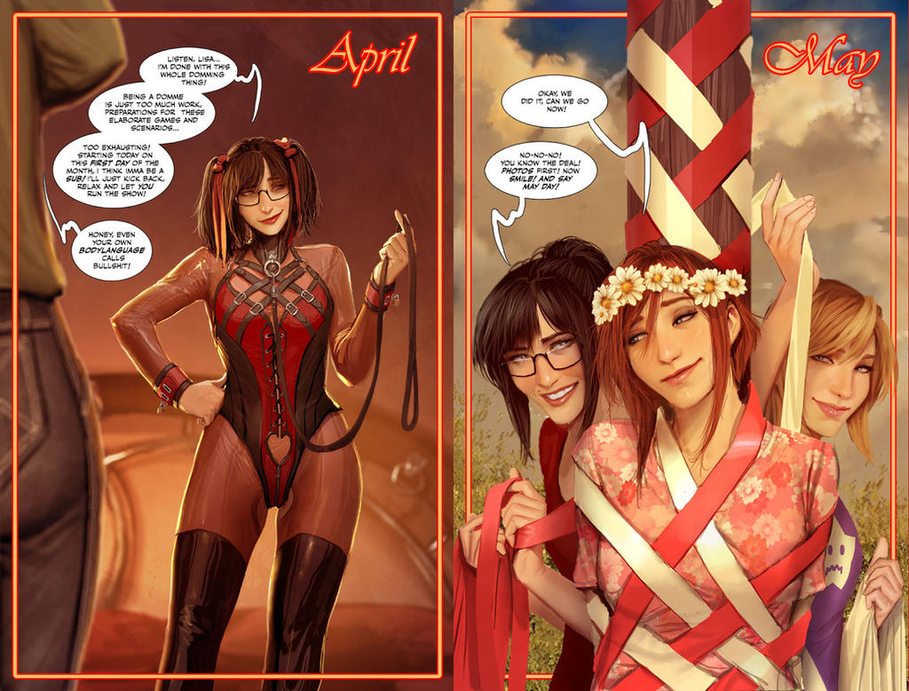 april and may by shiniez