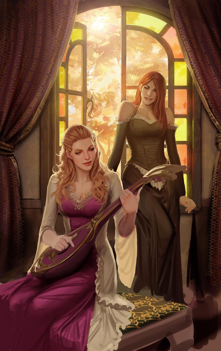 Lysandre-and-lara by shiniez