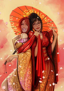 sunstone  japanese edition promotional poster by shiniez