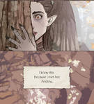 the queen and the woodborn is on webtoons now
