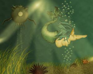 Big Beautiful Mermaid