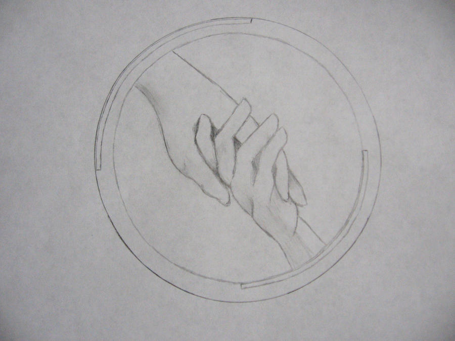 Abnegation Symbol Drawing