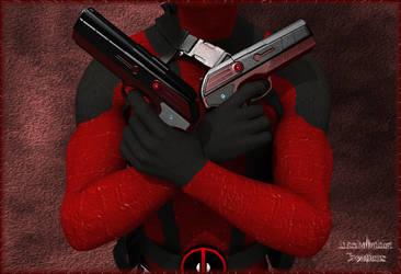 Deadpool Ready to Rumble. by Machobubba