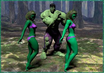 The Hulks!!! by Machobubba