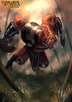 Guerrero Tigre - Warlords of Terra