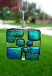 Clearly Emerald Fused Glass
