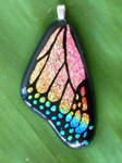 Rainbow Butterfly Wing Fused