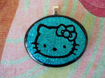 Hello Kitty Fused Glass