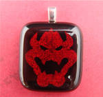 Bowser Fused Glass Pendant