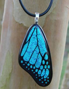 BlueMorpho Glass ButterflyWing
