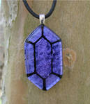 LoZ Purple Glass Rupee