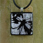 Cutaway Butterfly Fused Glass