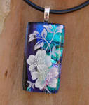 Blossom Collage 2 Fused Glass