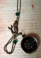 Siren's Compass Necklace by FusedElegance