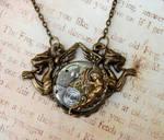Steampunk Chimera Necklace