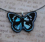 Pastel Fused Glass Butterfly