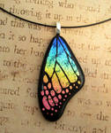 Pink in My Rainbow Glass Wing