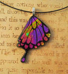 Swallowtail Fused glass Butterfly Wing