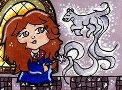 Hermione Casts a Patronus by CassieJ787