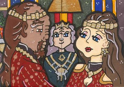 Jadzia Dax and Worf Wedding by CassieJ787