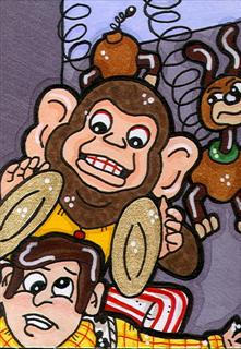 Toy Story 3 Evil Monkey