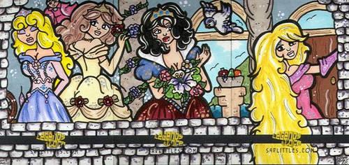 Fairytale Maidens by CassieJ787