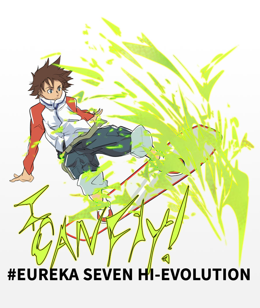 #Eureka Seven Hi-Evolution by l3reezer